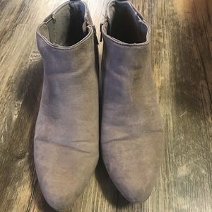 Short heal ankle booties